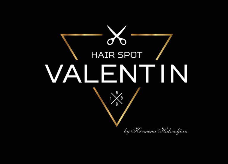 Лого VALENTIN Hair spot