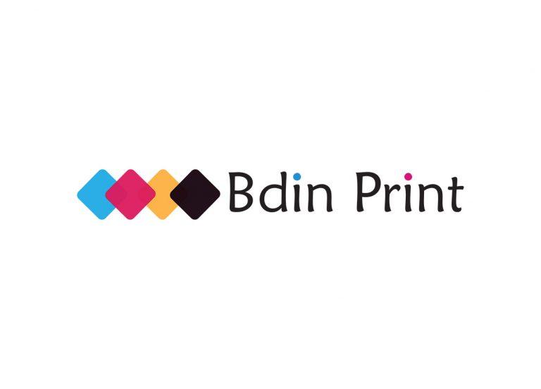 Лого Bdin Print