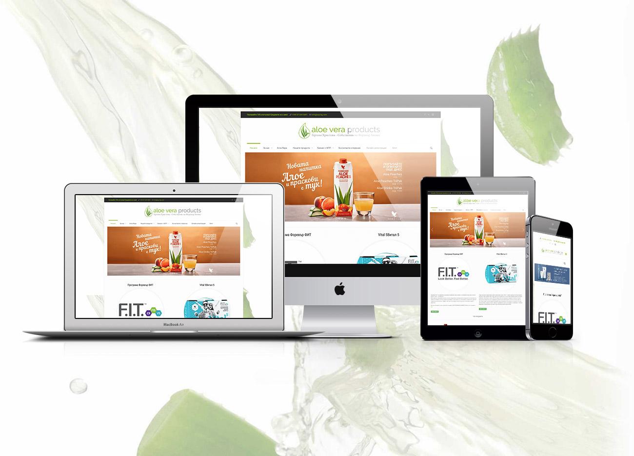 desing-360-онлайн продуктов каталог Aloe Vera Products